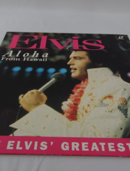 Laser disc - Elvis - Aloha from Hawaii