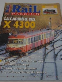 18 Magazines Rail passion - N°41 à 58