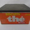Boite à biscuit Thé Brun - Métal
