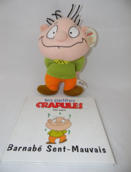 Les petites crapules - Livre + peluche - Barnabé Sent-Mauvais
