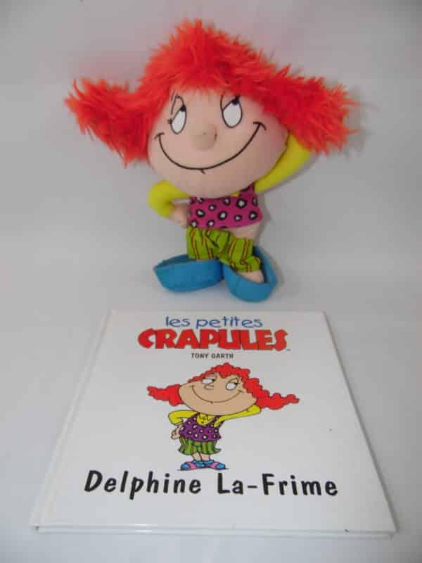 Les petites crapules - Livre + peluche - Delphine La-frime