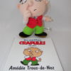 Les petites crapules - Livre + peluche - Amédée Trous-de-Nez