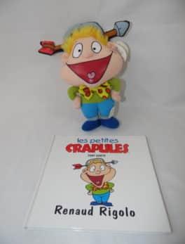 Les petites crapules - Livre + peluche - Renaud Rigolo