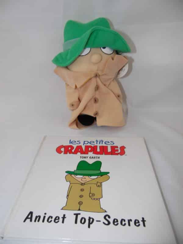 Les petites crapules - Livre + peluche - Anicet Top-Secret