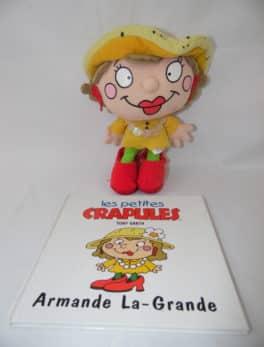 Les petites crapules - Livre + peluche - Armande La-Grande