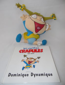 Les petites crapules - Livre + peluche - Dominique Dynamique