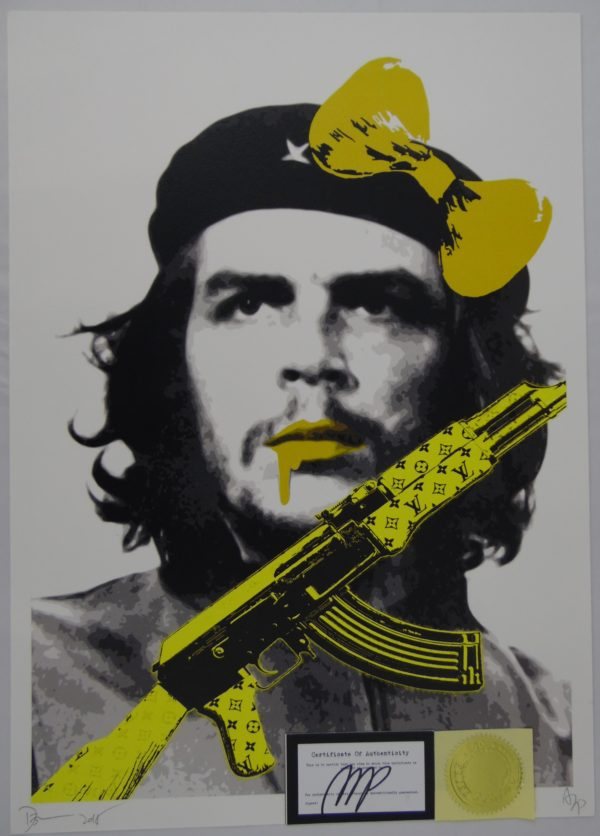 Street pop Art - Sérigraphies - Death NYC - Che Guevara