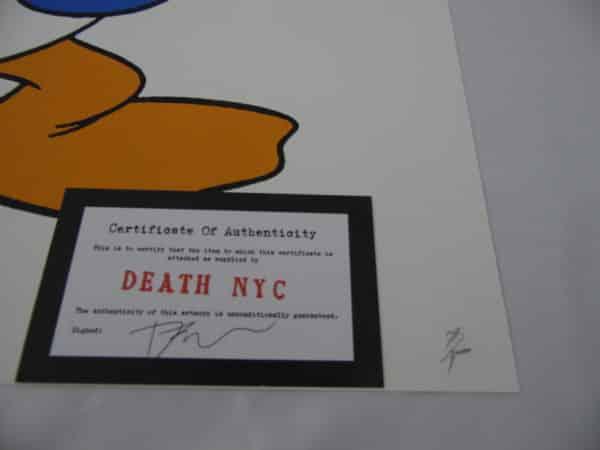 Street pop Art - Sérigraphies - Death NYC - Donald