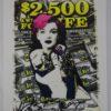 Street pop Art - Sérigraphies - Death NYC - Marilyn Monroe
