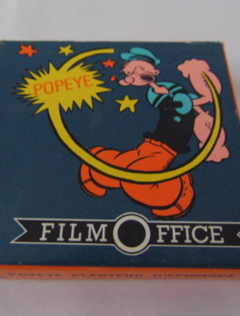 Film Super 8 - Popeye - Planteur d'épinard