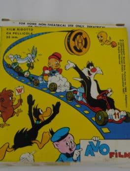 Film Super 8 - Looney tunes - Le serin rusé - Couleur