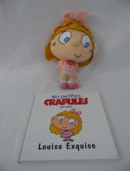 Les petites crapules - Livre + peluche - Louise Exquise