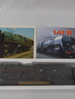 Maquette Train miniature - 141 R - La locomotive du plan Marshall