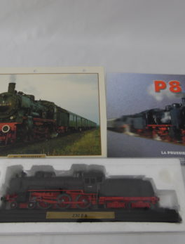 Maquette Train miniature - La Prussienne 230 P8
