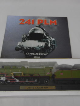 Maquette Train miniature - 241-C Cigare PLM