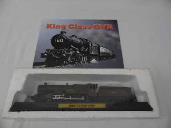 Maquette Train miniature - King Class GWR