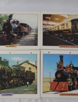 54 affiches de trains - Edition Atlas