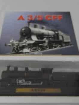 Maquette Train miniature - A 3/5 CFF