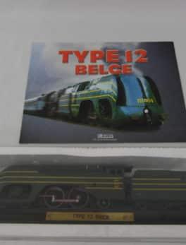 Maquette Train miniature - Type 12 Belge - SNCB