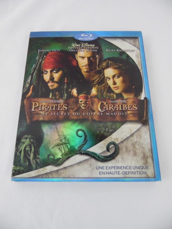 DVD Blu-Ray - Pirates des caraïbes - Le secret du coffre maudit