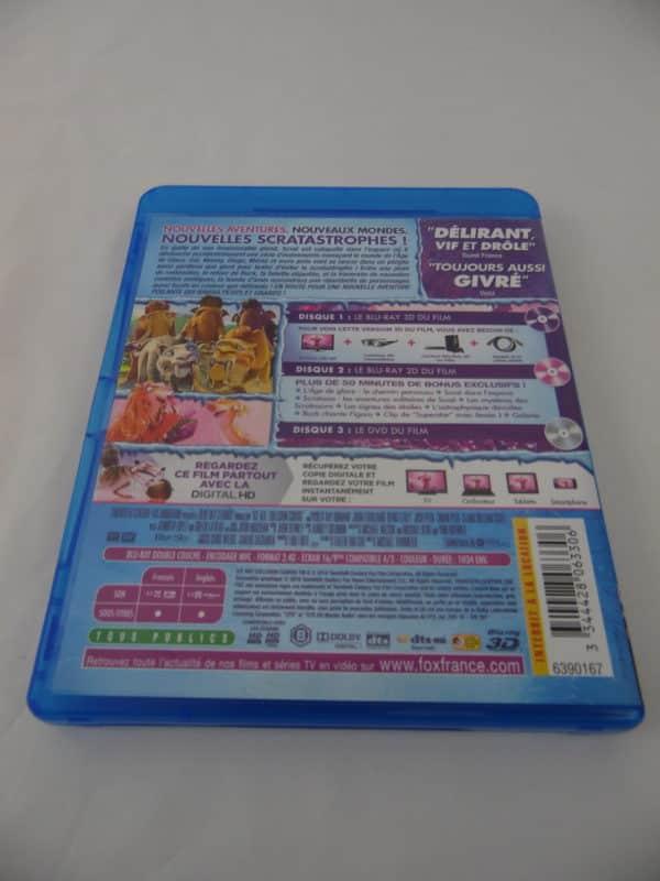 DVD Blu-Ray - 3D - L'age de glace 5 - Les lois de l'univers