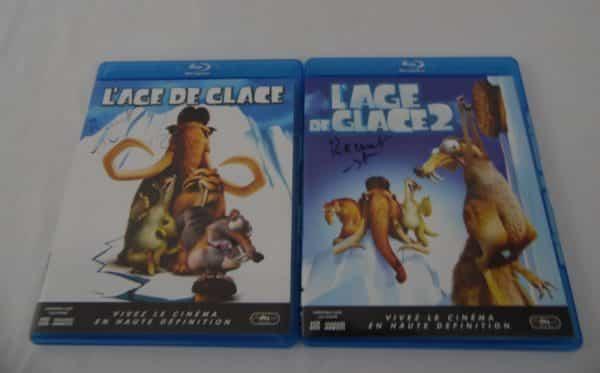 DVD Blu-Ray - Coffret 2 Blu-Ray - L'age de glace 1 et 2