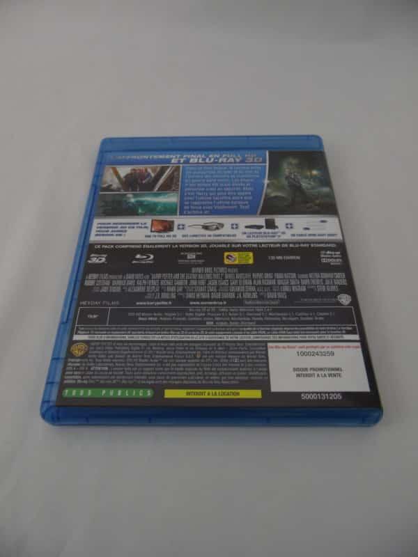 DVD Blu-Ray - 3D - Harry Potter - Et les reliques de la mort - 2ème partie