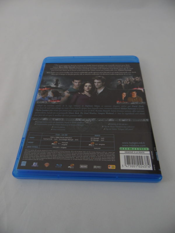 DVD Blu-Ray - Twilight - Chapitre 3 - Hésitation