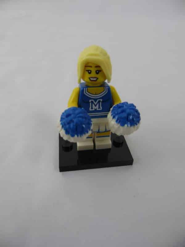 Mini figurine Lego N° 8683 - Série 1 - N°2 - La Pom-Pom girl
