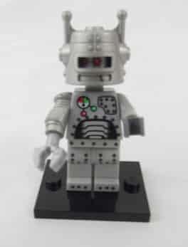 Mini figurine Lego N° 8683 - Série 1 - N°7 - Le robot