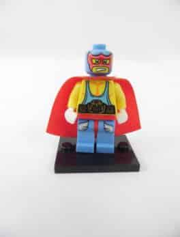 Mini figurine Lego N° 8683 - Série 1 - N°10 - Super Catcheur