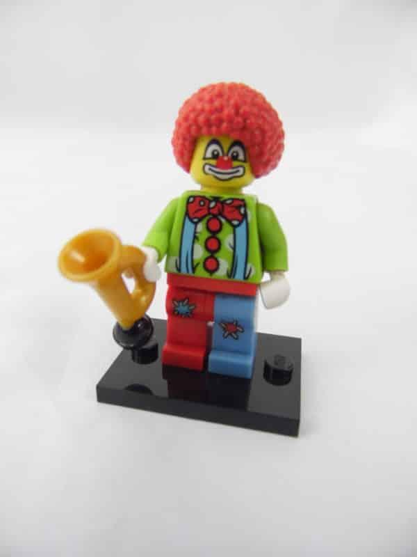 Mini figurine Lego N° 8683 - Série 1 - N°04 - Le Clown