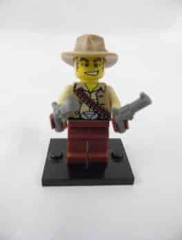 Mini figurine Lego N° 8683 - Série 1 - N°16 - Le Cowboy