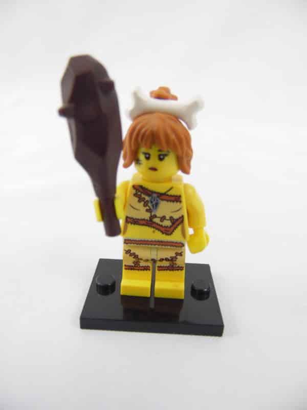 Mini figurine Lego N° 8805 - Série 5 - N° 05 - La Femme des Cavernes