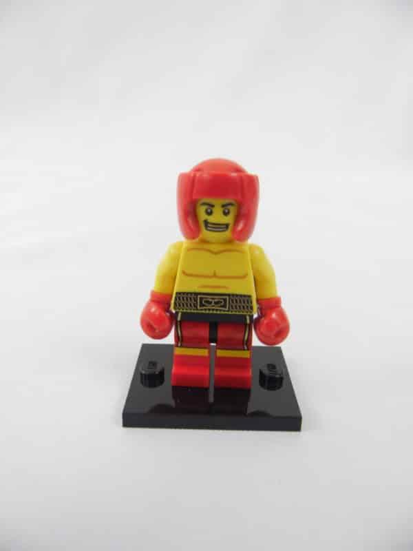 Mini figurine Lego N° 8805 - Série 5 - N° 13 - Le Boxeur