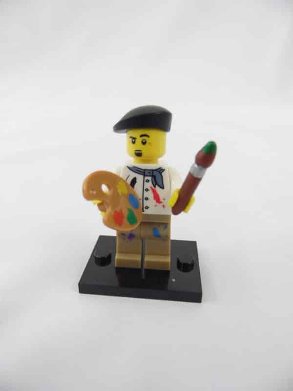 Mini figurine Lego N° 8804 - Série 4 - N°14 - L'Artiste