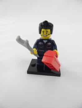 Mini figurine Lego N° 8827 - Série 06 - N° 15 - Le Mécanicien