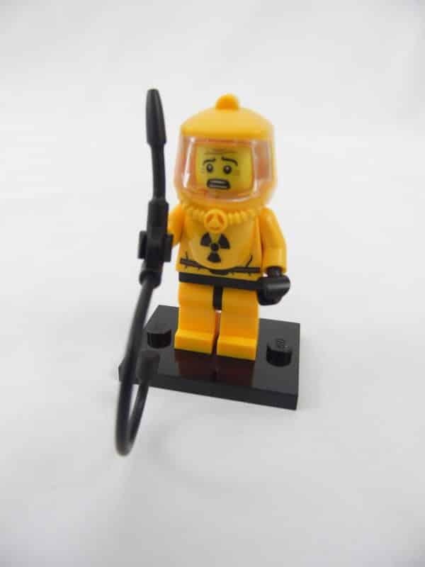 Mini figurine Lego N° 8804 - Série 4 - N°13 - L'Ingénieur Nucléaire