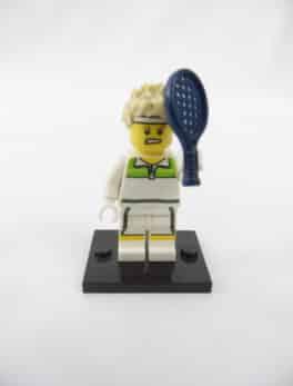 Mini figurine Lego N° 8831 - Série 07 - N° 09 - L'As de Tennis