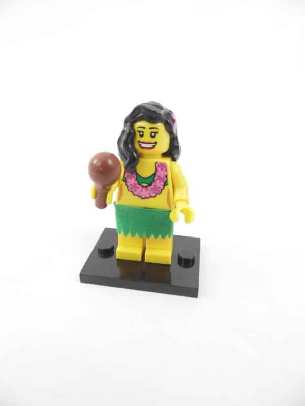 Mini figurine Lego N° 8803 - Série 3 - N°14 - La danseuse de Hula