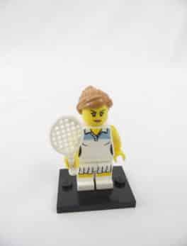 Mini figurine Lego N° 8803 - Série 3 - N°10 - La joueuse de Tennis