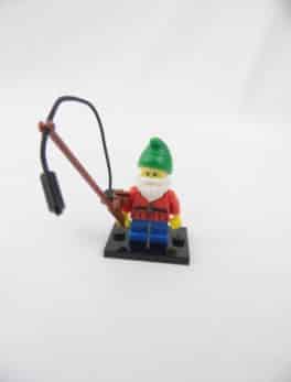 Mini figurine Lego N° 8804 - Série 4 - N°01 - Le Nain de jardin