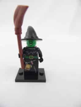 Mini figurine Lego N° 8684 - Série 2 - N°04 - La sorcière