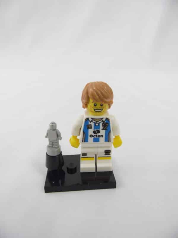 Mini figurine Lego N° 8804 - Série 4 - N°11 - Le Footballeur