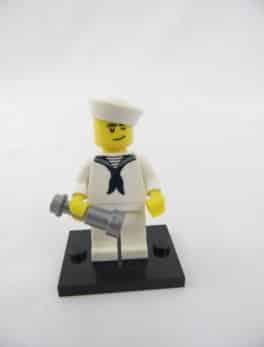 Mini figurine Lego N° 8804 - Série 4 - N°10 - Le Marin