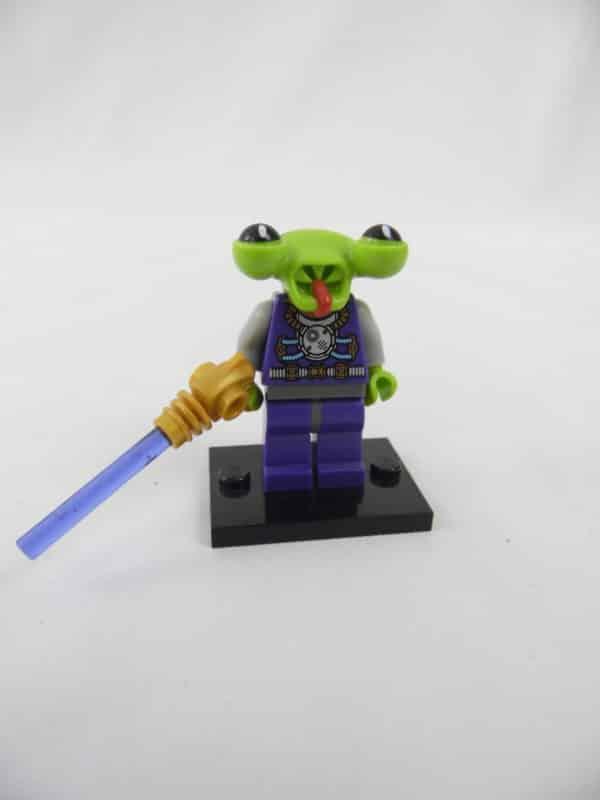 Mini figurine Lego N° 8803 - Série 3 - N°13 - L'Alien