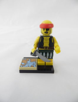 Mini figurine Lego N° 71013 - Série 16 - N°09 - Le Flibustier
