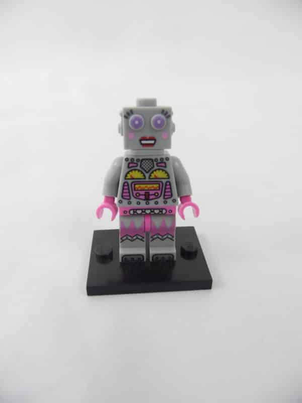 Mini figurine Lego N° 71002 - Série 11 - N° 16 - La Femme Robot