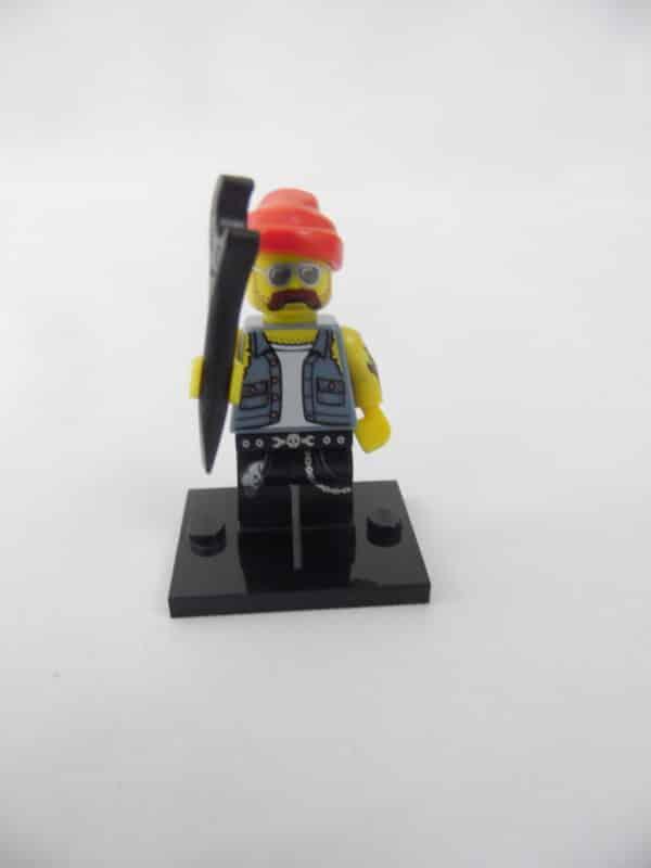 Mini figurine Lego N° 71001 - Série 10 - N°16 - Le Mécanicien Moto