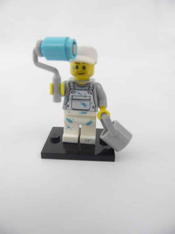 Mini figurine Lego N° 71001 - Série 10 - N°15 - Le Peintre